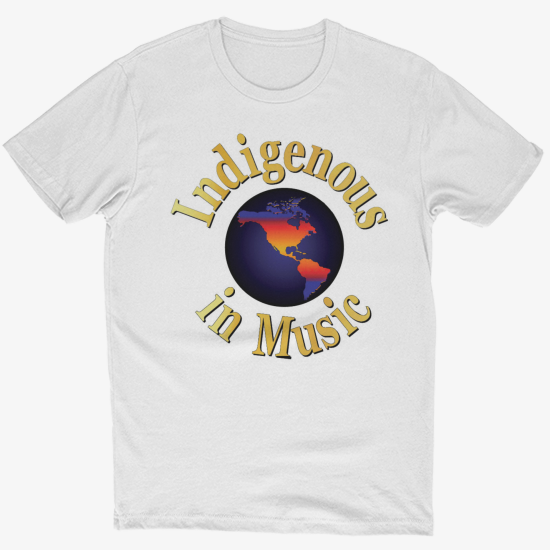 Indigenous in Music Black T shirt