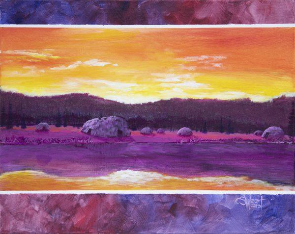 Village Sunrise
